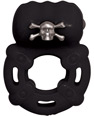 Bad Bones Skull & Crossbones Pleasure Ring -Black