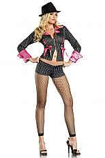 Sexy Pimpette Halloween Costume